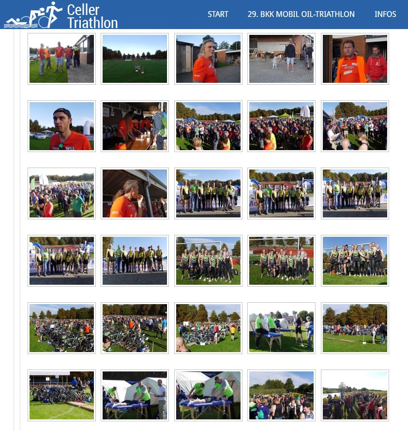 Fotos vom Celler Triathlon 2016