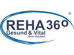 logo REHA360 - Gesund & Vital Sven Haubert Celle - Physiotherapie, Training, Sportbetreuung und Rehabilitation